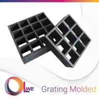 Grating Fiberglass, Molded Grating Mesh 3838 - 1000x4000mm