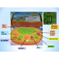 Mainan Edukasi Alat Musik apel belajar ALQURAN/apple learning Quran