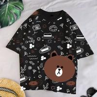 T-Shirt CONY XL / Baju Kaos Wanita KOREANSTYLE OVERSIZE