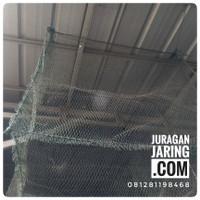 Jaring keramba ikan bahan jaring pe tebal, ukuran sesuai pesanan