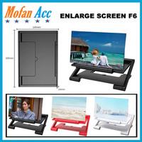 ENLARGE SCREEN F6 Kaca Pembesar Layar HP ENLARGED Mobile Phone 3D