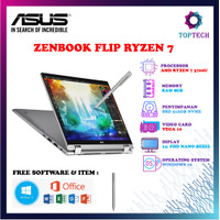Asus Zenbook Flip UM462DA AI701T - AMD R7 3700U 8GB 512GB W10 Vega 10