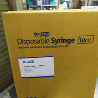 disposable syringe 10 ml onemed