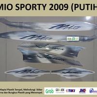 Mio Sporty 2009 (putih)List Striping Stripping Stiker Sticker