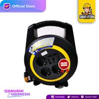 Kabel Box Turbo Roll 15 20 Meter T Yunior Stop kontak 4 Lubang Gulung