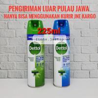 Dettol Desinfektan Spray 170gr - HIJAU 225ml