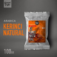ARABICA KERINCI NATURAL 100GR