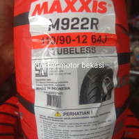 ban tubles 110 90 12 maxxis m922r tubeless 110/90-12