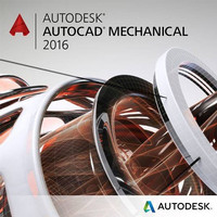 AutoCAD Mechanical 2016 Full Version -DVD