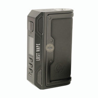 Mod Thelema DNA 250c Black Calf Leather Authentic By LostVape