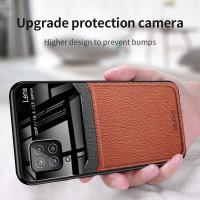 Case Samsung Galaxy A12 Case Premium Leather