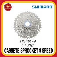 SHIMANO HG400-9 Speed 12-36T Cassete Sprocket Sepeda Slop