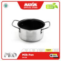 Maxim Pro Panci Susu Teflon Anti Lengket 14cm Milk Pan