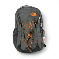 Tas The North Face Jester Backpack Dark Grey Orange Original - DARKGREY ORANGE, 28 LITER