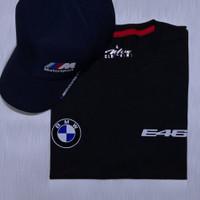 Kaos/Baju BMW E46 Logo - Exclusive Print Heat Resistance