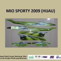 Mio Sporty 2009 (hijau)List Striping Stripping Stiker Sticker