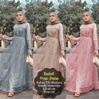gamis pesta mutiara pearl pernikahan wanita maxi maxy baju muslim long