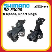 SHIMANO R3000 Rear Derailleur RD SORA 9 Speed Short Cage