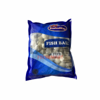 SEAFOODKING WHITE FISH BALL (B) 500GR / BAKSO IKAN REBUS 500GR - BAKSO KECIL
