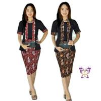 Kebaya modern sofi batik kebaya wisuda kutu baru baju remaja murah tm