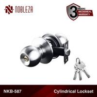NOBLEZA NKB-587 Kunci Bulat Handle Gagang Pintu Kamar Mandi Silinder