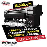 Cetak/Print Spanduk Bahan Flexy 280