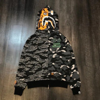 JAKET BAPE HOODIE BAPE X UNDEFEATED PERFECT CLONE BEST QUALITY - S