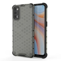 OPPO RENO 5 4G / 5G SOFT CASE RUGGED ARMOR HONEYCOMB SERIES