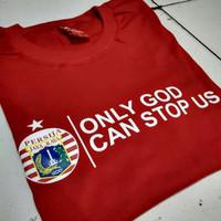 Kaos Baju Combed 30S Distro ONLY GOD PERSiJA polos custom indonesia