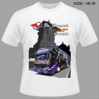 Kaos Bis Haryanto Jetbus3 Ganesha - Tshirt Baju Bus Haryanto