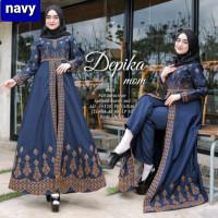 setelan maxi gamis muslim baju celana panjang set maxy arab india