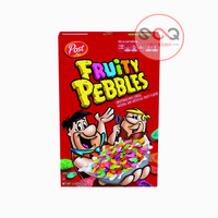 POST CEREAL Fruity Pebbles 425 Gram 15 Oz Rice Cereal (Made in USA)