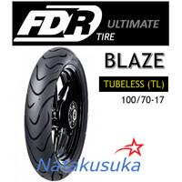 Ban Luar FDR Blaze Tubeless (TL) 100/70-17