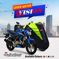 TERMURAH Cover Sarung Motor Yamaha Vixion Penutup Sarung motor Vixion - Biru