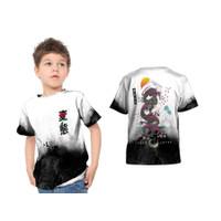 2S5 - Baju Kaos Tshirt Anak Japan Tokyo Dragon Naga Fullprint Custom -