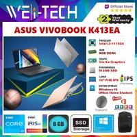 ASUS VIVOBOOK K413EA i3-1115G4 8GB 512GB SSD 14FHD WIN10 OHS