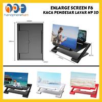 ENLARGE SCREEN F6 Kaca Pembesar Layar HP 3D Mobile Phone Enlarged Zoom