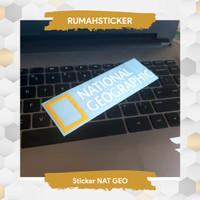 Sticker / Stiker Cutting NATIONAL GEOGRAPHIC bahan Oracal German