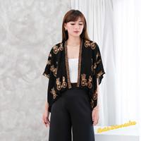 Bolero Batik modern motif sepeda sogan gold