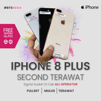 IPHONE 8 PLUS 64 GB SECOND FULLSET EX INTER ORIGINAL 100%