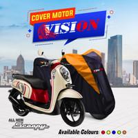 TERMURAH Cover Sarung Motor Honda Scoopy Penutup Sarung motor Scoopy - Biru