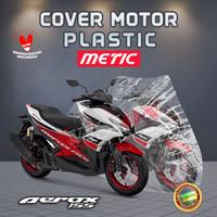 cover motor aerox 150 CC plastik anti air murah