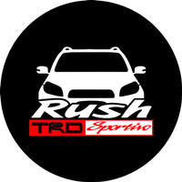 TERMURAH cover ban serep mobil Toyota Rush Sarung Ban serep 13