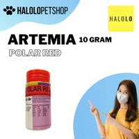 Pakan Ikan Artemia Polar Red Artemia Shell Free Polar Red 10 Gram