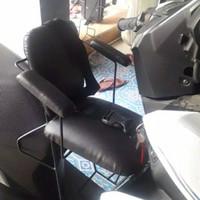 KURSI BONCENG ANAK UNTUK MOTOR MATIC - MOTOR LEXI