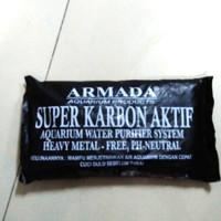 media filter Super karbon carbon arang aktif aquarium aquascape