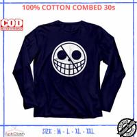 Baju Kaos Anime Doflamingo Flag One Piece Lengan Panjang High Premium