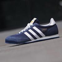 Sepatu Sneakers Casual Original ADIDAS DRAGON NAVY WHITE