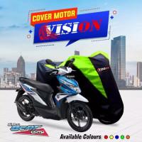 TERMURAH Cover Sarung Motor Honda Beat Penutup Sarung motor All Beat - Biru