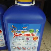Yuri Matic Detergent Mesin Cuci Aroma Romantic Blue Kemasan 3,7Kg